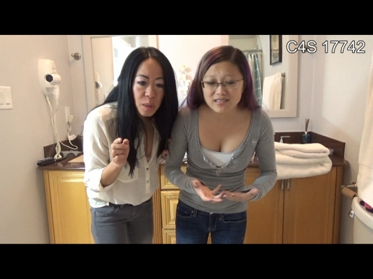 Asian milf with small penis